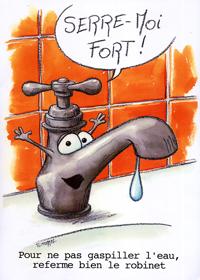 Moyens pour économiser de l'eau
