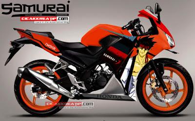 modifikasi Honda CBR 150 lokal - modifikasi CBR 150 R terbaru 2015