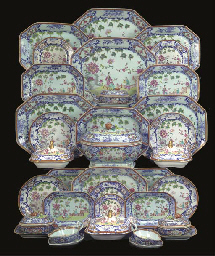 chinese 18th c. Famille rose dinner service