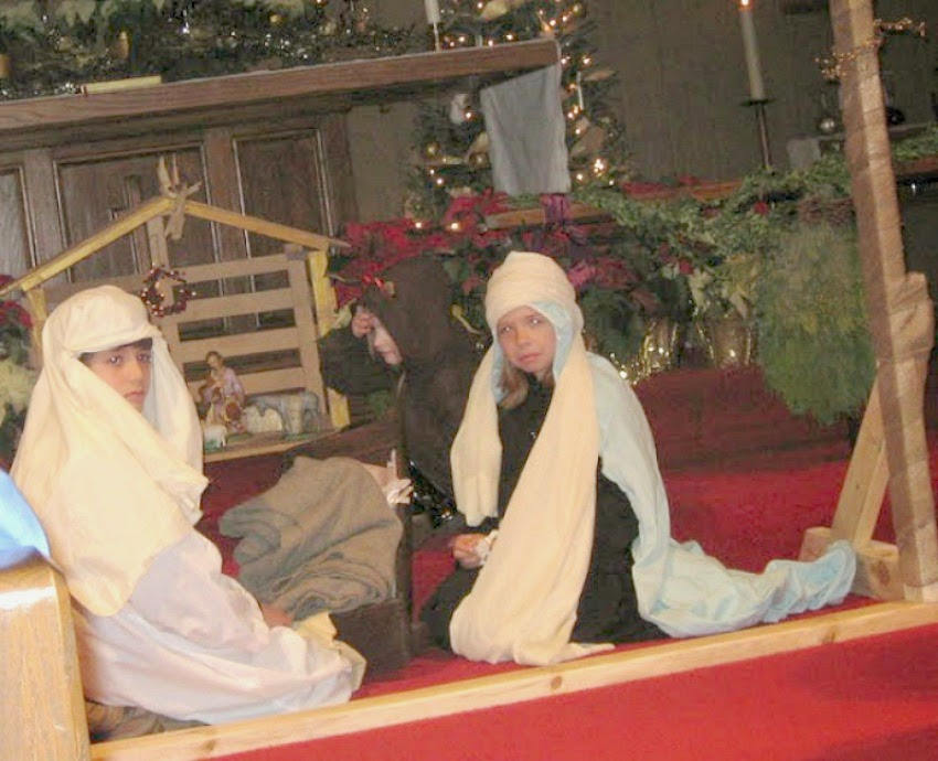 Nativity Play and Easy No Sew Costumes