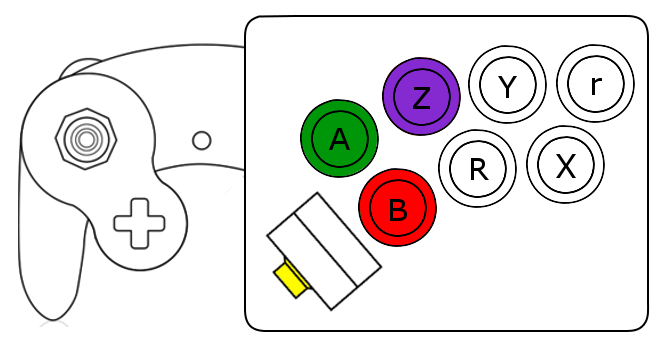 projects a better gamecube controller part 2 electrical execution figure 1 final concept for modified controller