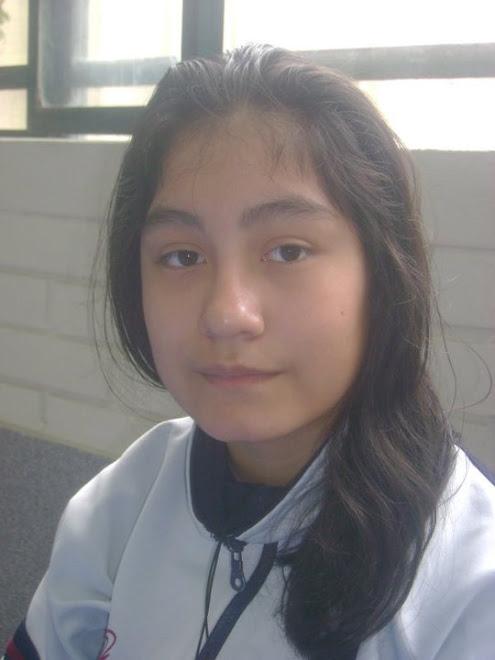 OLGA ESTEFANI AVILA PASCAL  GANADORA DE LA MEDALLA DE ORO EN LA VI O.P.B. 2011.