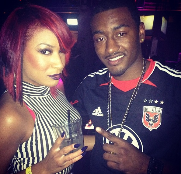 Hip Hops John Wall Rocking The Dc United Jersey With Phoenix