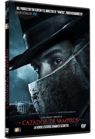 Descargar Abraham Lincoln Cazador de Vampiros DVDRip Español Latino 2012