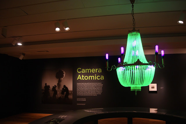 from Camera Atomica Exhibit at Art Gallery of Ontario in Toronto, AGO, Nuclear, Weapons, Photography, Meltdown, Photos, Disaster, World War Two, Canada, The Purple Scarf, Culture, Art, Artmatters, Exhibition, Crystal Palace Chandelier, Ken and Julia Yonetani