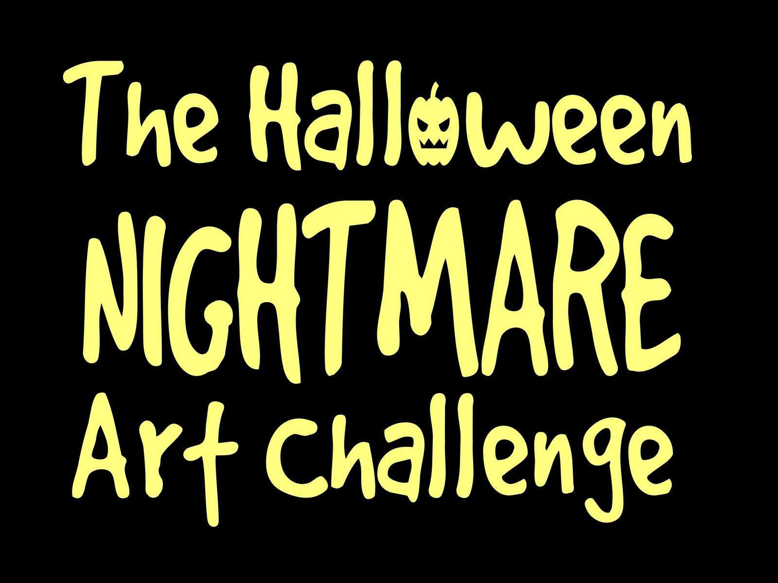 the halloween nightmare art challenge the results - Halloween Nightmare