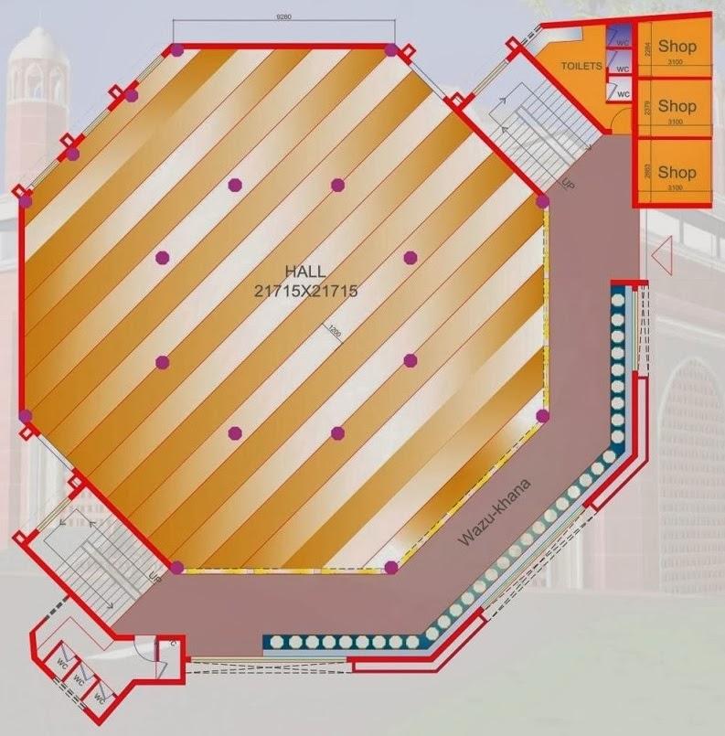 proposed jama masjid jamia boys hostel