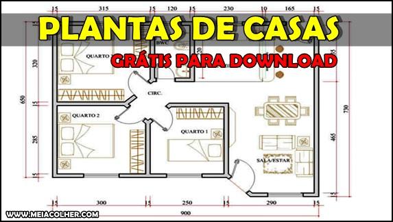 planos de casas pequenas pdf