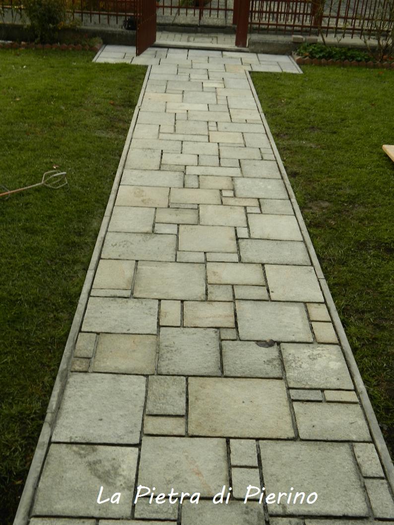 La pietra di pierino vialetto - Viali da giardino ...