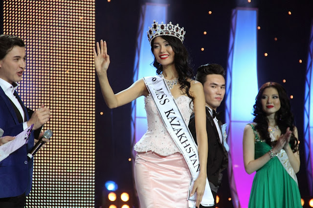 Miss Kazakhstan 2013 winner is Aiday Issayeva