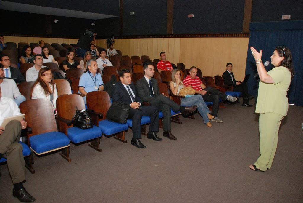 A promotora Anaíza Malhardes falou sobre a importância de mostrar transparência a população