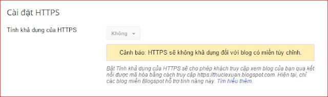 Blogger đã được hỗ trợ HTTPS cùng trải nghiệm thôi nào