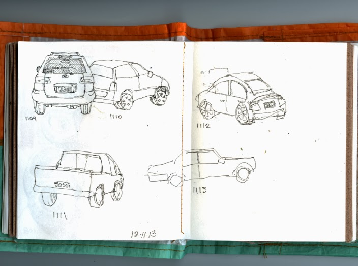 Line Drawing Car : Real life journals: really bad car drawings plus a helpful cat