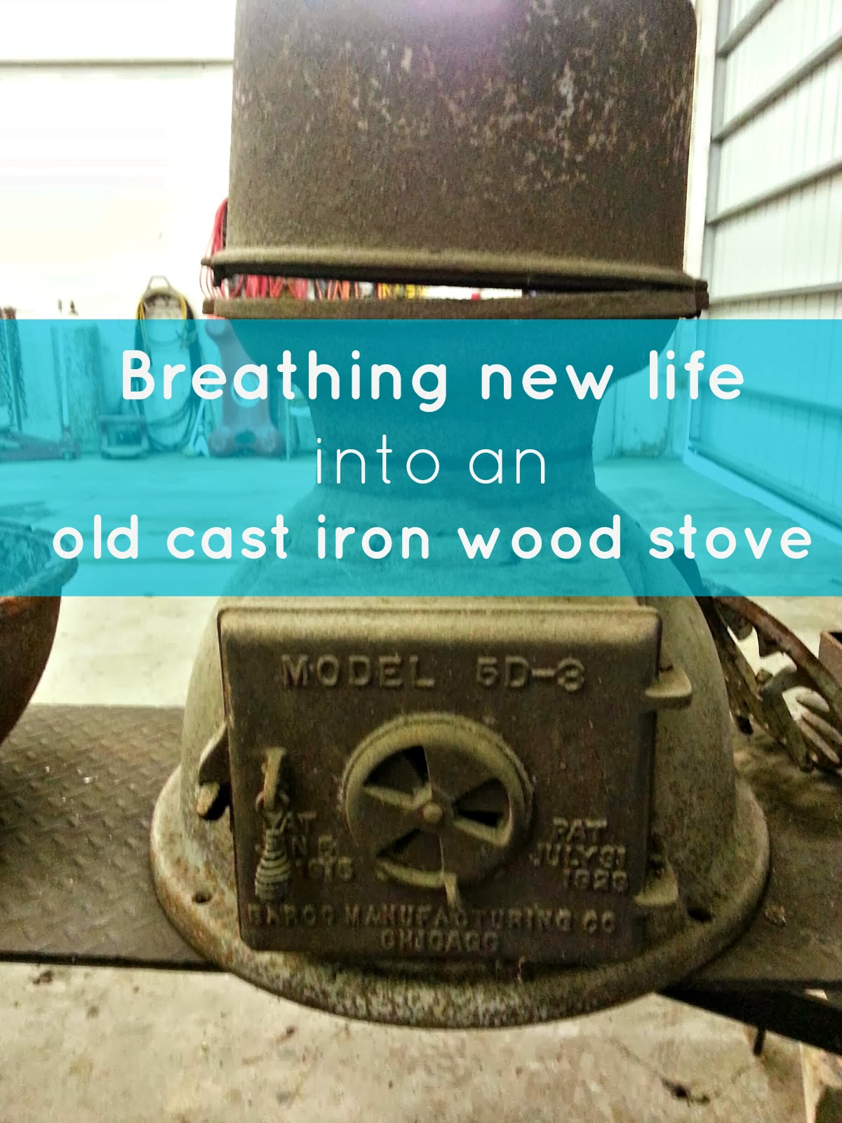 The Sustainable Couple: Old Becomes New: Refinishing a Cast Iron ...