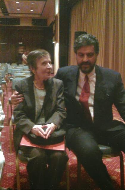 Με την Πρύτανη των Πρυτάνεων κα. Ελένη Γλύκατζη-Αρβελέρ