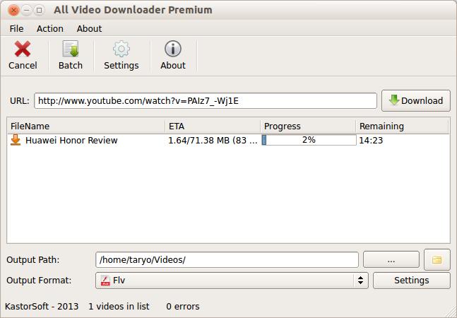 All Video Downloader - Aplikasi Video Download di Internet Untuk Linux/OSX/Windows