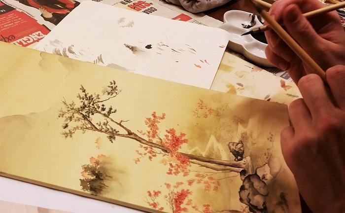 I corsi di pittura giapponese