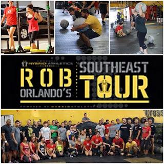 Caution Crossfit Rob Orlando Strongman Southeast Tour Ad