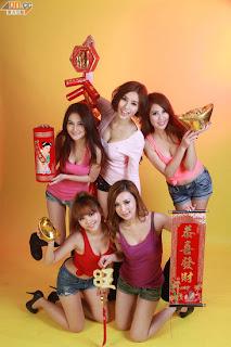 Xu Ying Hong Kong Sexy Model Sexy Short Jeans Image 8