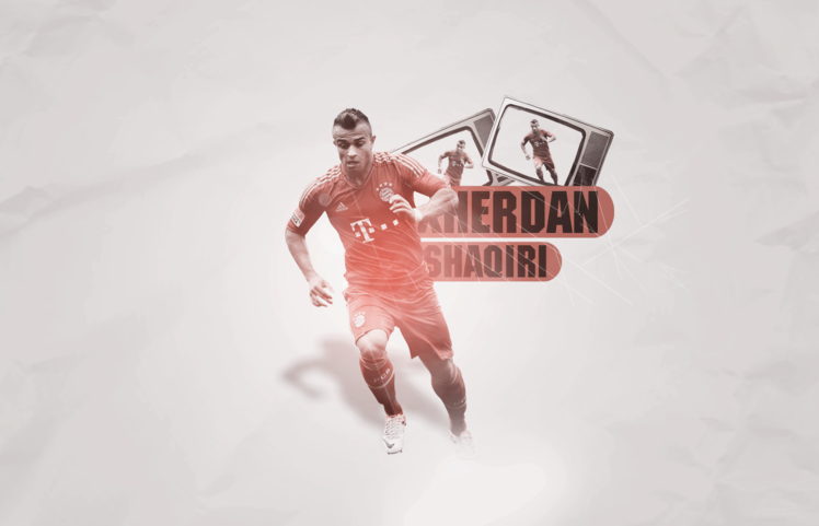 Football: Xherdan Shaqiri 2013 HD Wallpapers