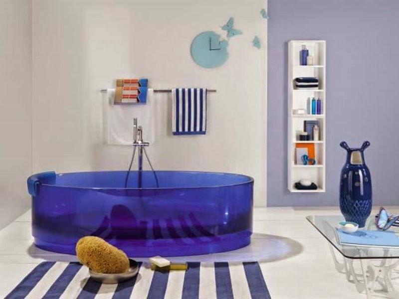 Bathroom themes blu theme