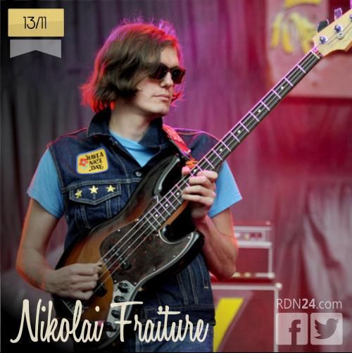 13 de noviembre | Nikolai Fraiture - @N_Fraiture | Info + vídeos