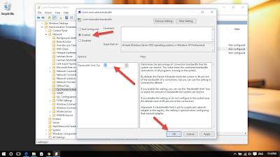 شرح تحديد سرعه لتحميل تحديثات ويندوز 10