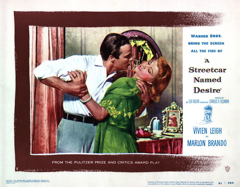 a comparison of a streetcar named desire and the movie 12 monkeys A streetcar named desire made its broadway debut in 1947 it's shocking scenes, and forbidden themes were, although avant-garde, extremely well received by.