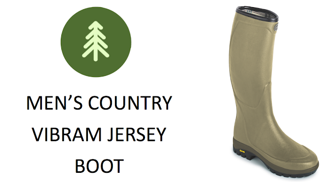 Le Chameau Men's Country Vibram Wellington Boot