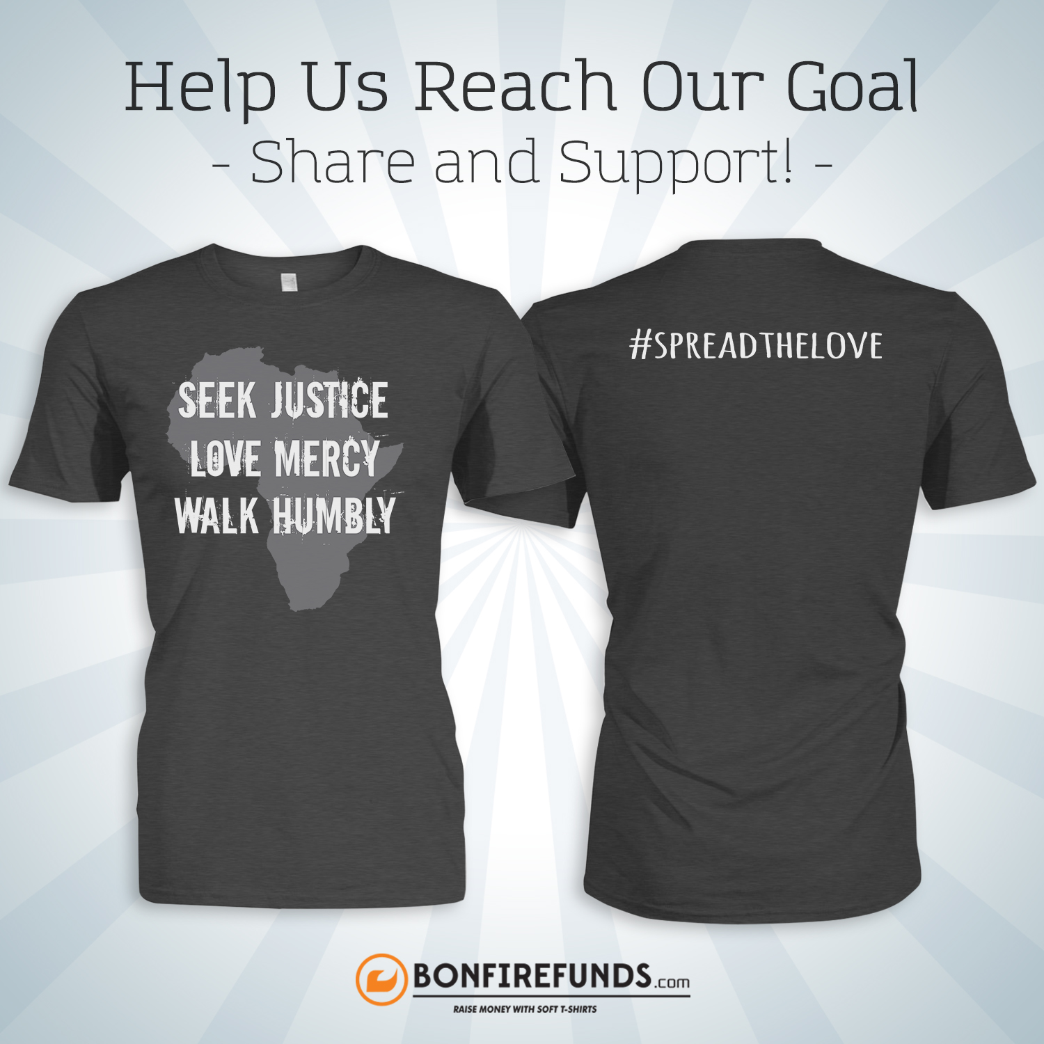 We have adoption t-shirts available for sale!