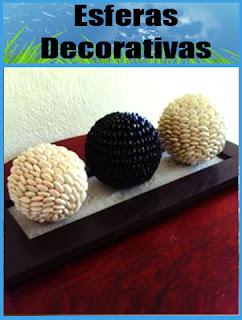 Tutorial: Esferas decorativas con granos o semillas