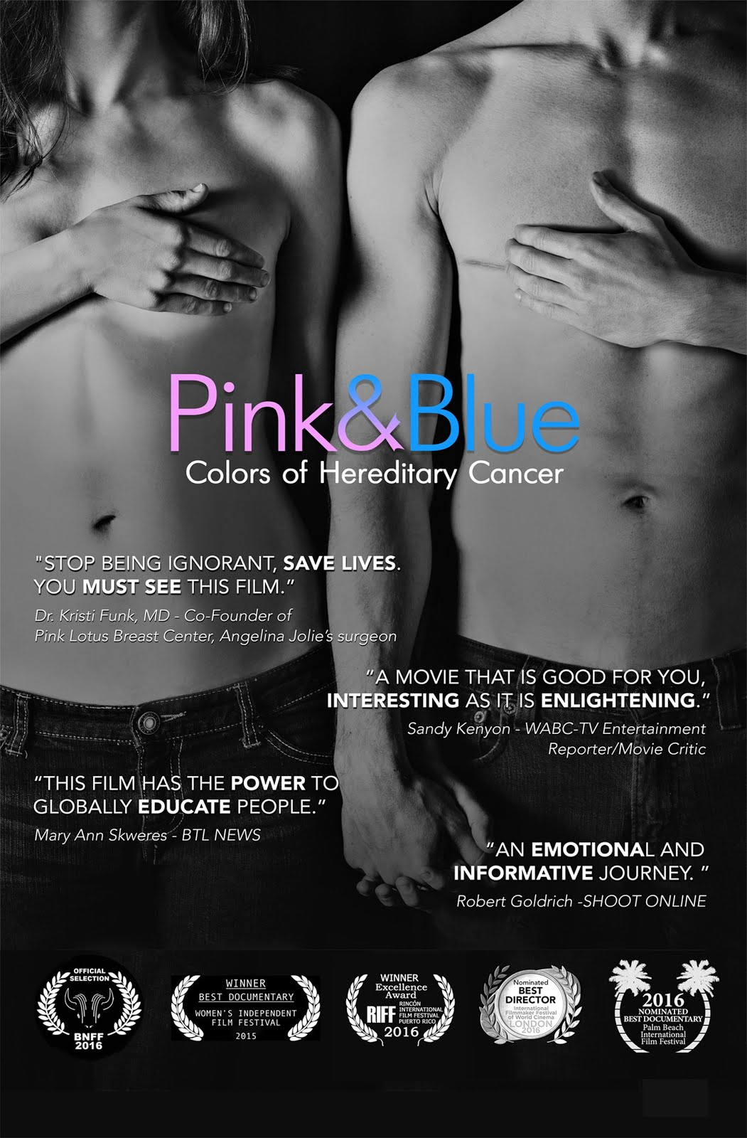 Watch Pink & Blue: Colors of Hereditary Cancer on iTunes!