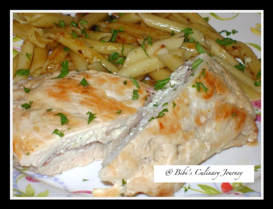 Prosciutto & Ricotta Stuffed Chicken Breast