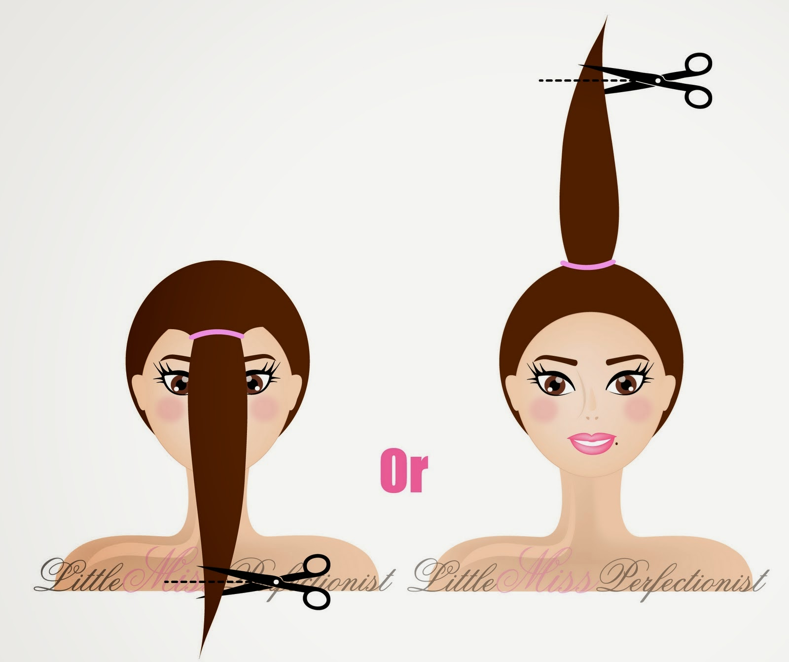 Как в домашних условиях ровно подстричь волосы самой себе 8