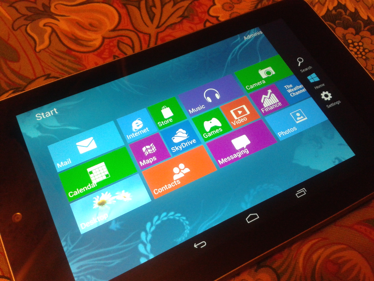 Windows 8 on Asus Nexus 7