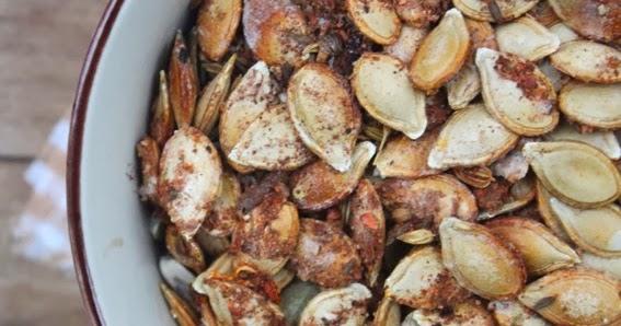 Petits repas entre amis graines de citrouille grill es - Graines de citrouille grillees au four ...