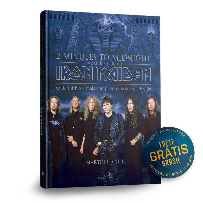 ATLAS ILUSTRADO IRON MAIDEN