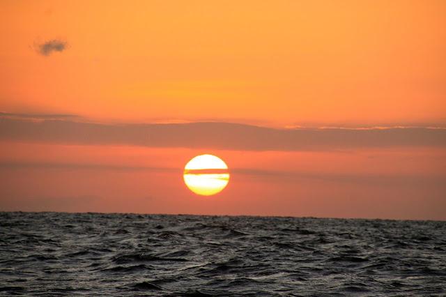 sunrise boat ride, bali