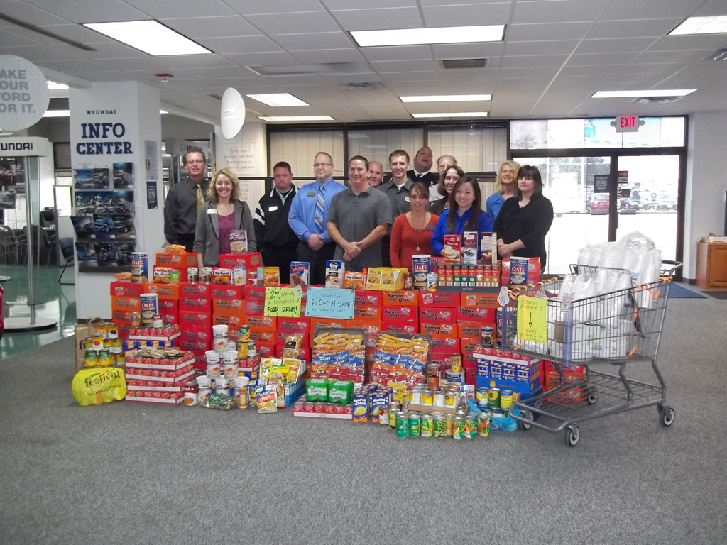 Van Horn Auto Group Blog: 2nd Annual Employee Food Drive at Van Horn