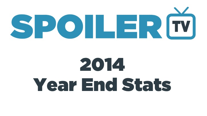 2014 - Year End Stats - Most Popular Shows, Videos, Articles and More