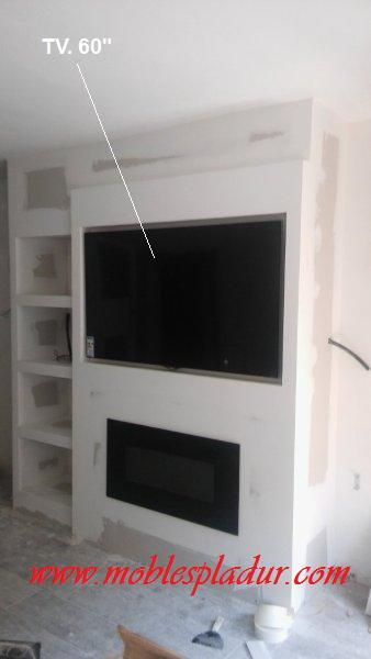 Pladur barcelona - Muebles pladur para salon ...