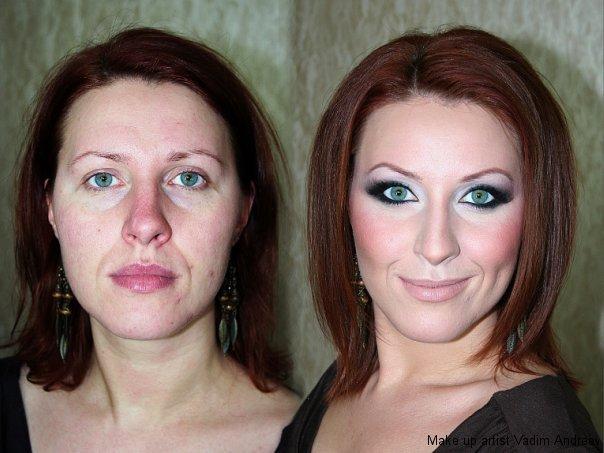 stunning makeup skills