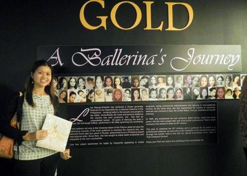 Lisa Macuja, ballet, aliw theater, gold concert