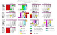 Kalender Pendidikan SD Tahun Pelajaran 2012/2013
