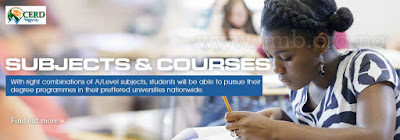 Subject and courses