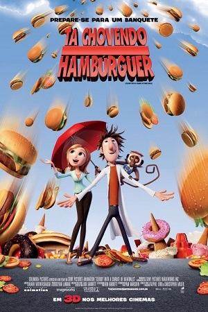 Tá Chovendo Hambúrguer BluRay Filmes Torrent Download completo