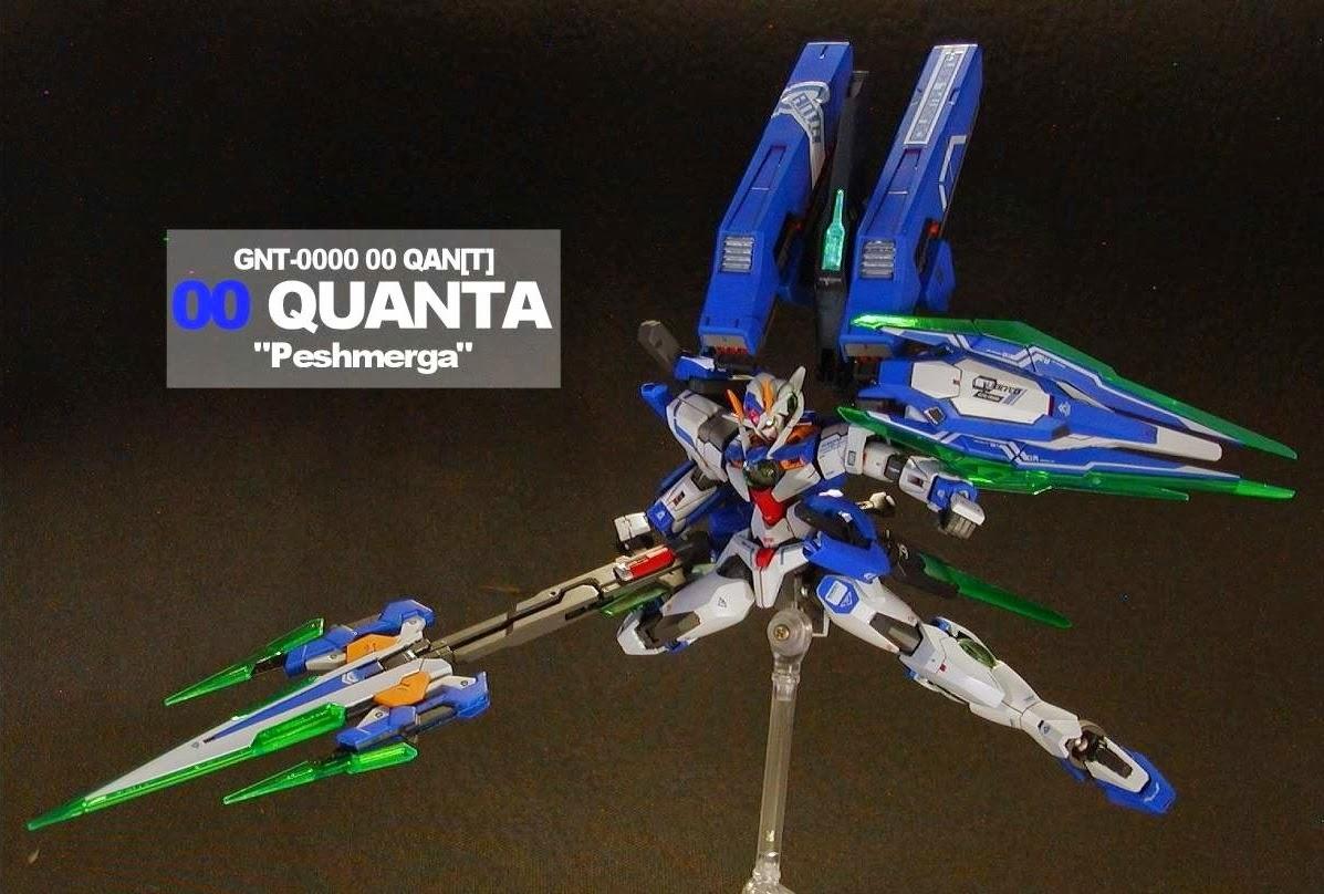 Ooq Mg Gundam T Model And Bandai Sd Bb 364 Oo Qant Qanta Quanta