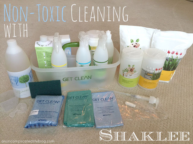 #Shaklee nontoxic cleaning starter kit - everything you need to clean your home without the harmful chemicals