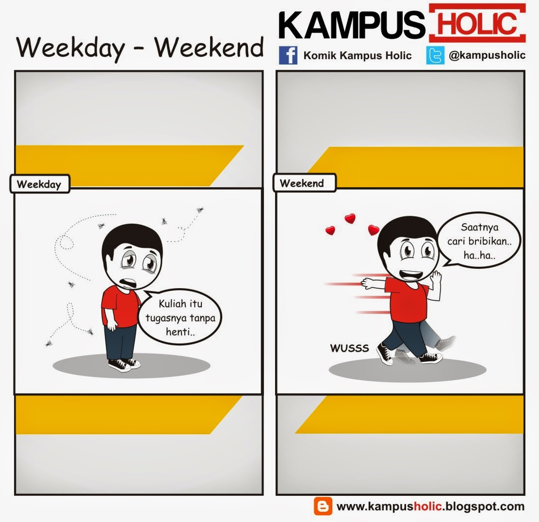 #707 Weekday – Weekend