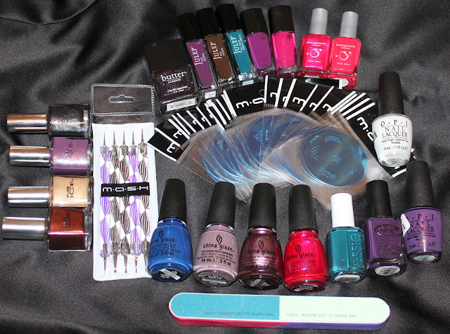 huge weekly nail haul